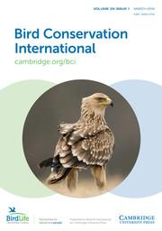 Bird Conservation International Volume 29 - Issue 1 -