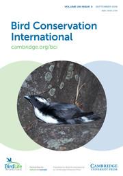 Bird Conservation International Volume 29 - Issue 3 -