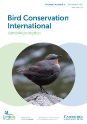 Bird Conservation International Volume 30 - Issue 3 -