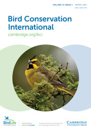 Bird Conservation International Volume 31 - Issue 1 -