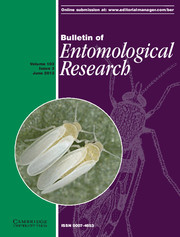 Bulletin of Entomological Research Volume 103 - Issue 3 -