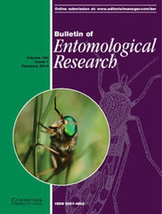 Bulletin of Entomological Research Volume 104 - Issue 1 -