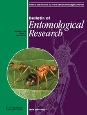 Bulletin of Entomological Research Volume 105 - Issue 2 -