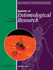 Bulletin of Entomological Research Volume 106 - Issue 6 -