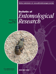 Bulletin of Entomological Research Volume 107 - Issue 4 -