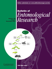 Bulletin of Entomological Research Volume 108 - Issue 6 -