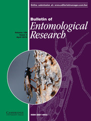 Bulletin of Entomological Research Volume 109 - Issue 2 -