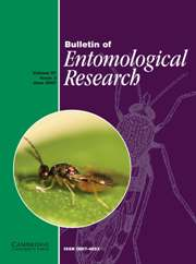 Bulletin of Entomological Research Volume 97 - Issue 3 -