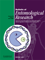 Bulletin of Entomological Research Volume 98 - Issue 3 -
