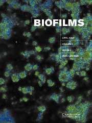Biofilms Volume 1 - Issue 2 -