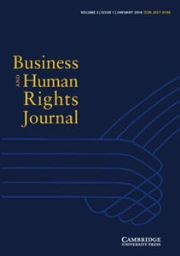 Business and Human Rights Journal Volume 3 - Issue 1 -