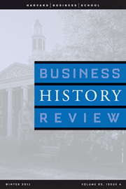 Business History Review Volume 85 - Issue 4 -