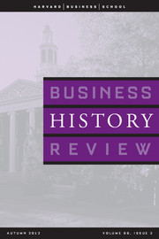 Business History Review Volume 86 - Issue 3 -