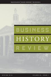 Business History Review Volume 90 - Issue 1 -