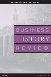 Business History Review Volume 90 - Issue 3 -  A Special Issue on Food and Agriculture