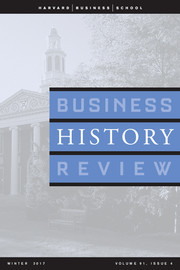 Business History Review Volume 91 - Issue 4 -