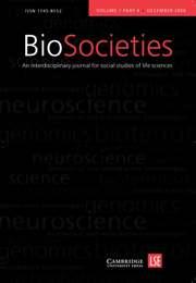 BioSocieties Volume 1 - Issue 4 -