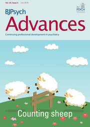 BJPsych Advances Volume 24 - Issue 4 -