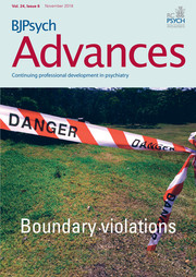 BJPsych Advances Volume 24 - Issue 6 -