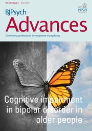 BJPsych Advances Volume 25 - Issue 3 -