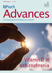 BJPsych Advances Volume 25 - Issue 4 -