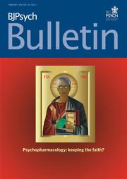 BJPsych Bulletin Volume 42 - Issue 1 -