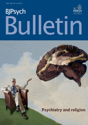 BJPsych Bulletin Volume 42 - Issue 3 -