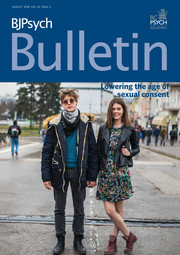 BJPsych Bulletin Volume 42 - Issue 4 -