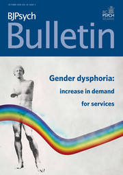 BJPsych Bulletin Volume 42 - Issue 5 -
