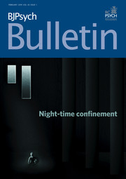 BJPsych Bulletin Volume 43 - Issue 1 -