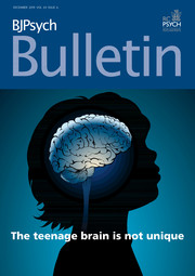BJPsych Bulletin Volume 43 - Issue 6 -