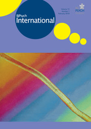 BJPsych International Volume 15 - Issue 1 -