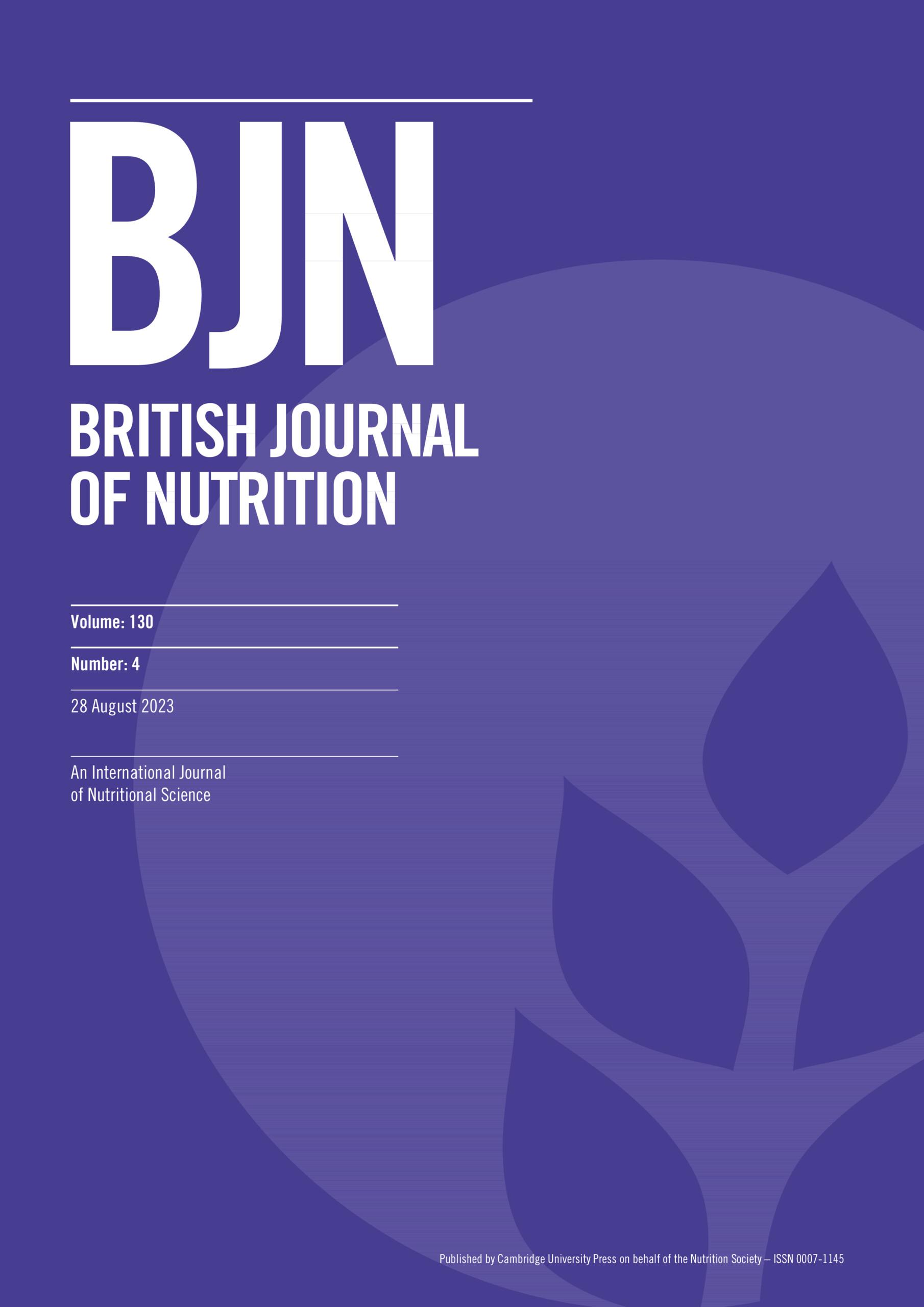 British Journal of Nutrition | Cambridge Core