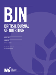 British Journal of Nutrition Volume 107 - Issue 3 -