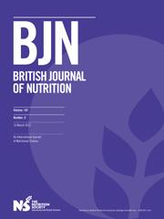 British Journal of Nutrition Volume 107 - Issue 5 -