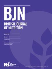 British Journal of Nutrition Volume 107 - Issue 6 -