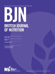 British Journal of Nutrition Volume 108 - Issue 6 -