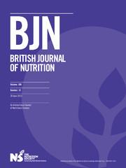 British Journal of Nutrition Volume 109 - Issue 12 -