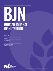British Journal of Nutrition Volume 109 - Issue 6 -