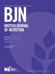 British Journal of Nutrition Volume 109 - Issue 8 -