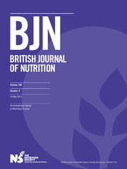 British Journal of Nutrition Volume 109 - Issue 9 -