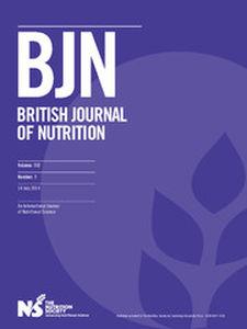 British Journal of Nutrition Volume 112 - Issue 1 -