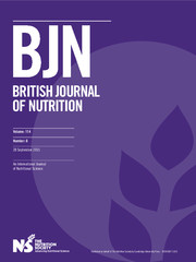 British Journal of Nutrition Volume 114 - Issue 6 -