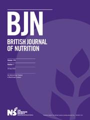 British Journal of Nutrition Volume 116 - Issue 1 -