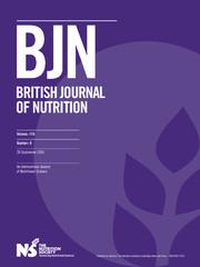 British Journal of Nutrition Volume 116 - Issue 6 -