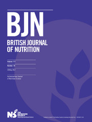 British Journal of Nutrition Volume 117 - Issue 10 -