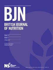 British Journal of Nutrition Volume 117 - Issue 5 -