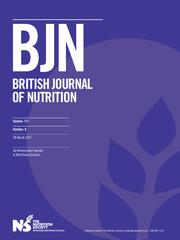 British Journal of Nutrition Volume 117 - Issue 6 -