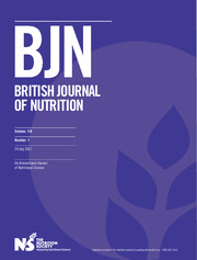 British Journal of Nutrition Volume 118 - Issue 1 -