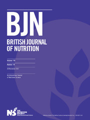 British Journal of Nutrition Volume 118 - Issue 10 -